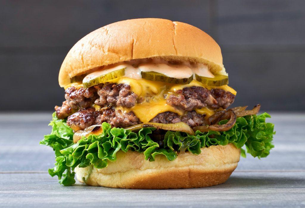 Grounded Burger Halal smash burger in Park Royal London Kitchen delivery