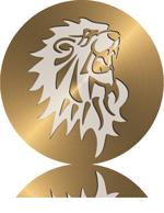 lion-circle-gold