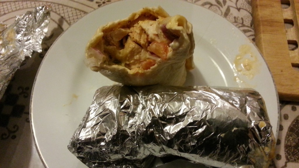 smokeys gril slough wrap chicken