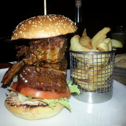 The Meat Co. - Westfield, Shepherds Bush bread burger