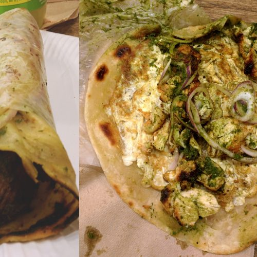 the kati roll company paratha roti