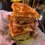 Frankenstein Special Secret Menu - Waffle burger