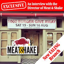 meat & shake interview qanda ealing