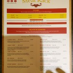 meat rack menu