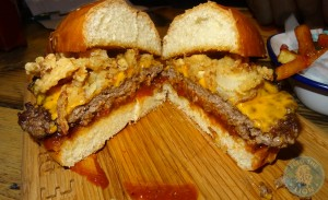 brioche burger lone ranger cut