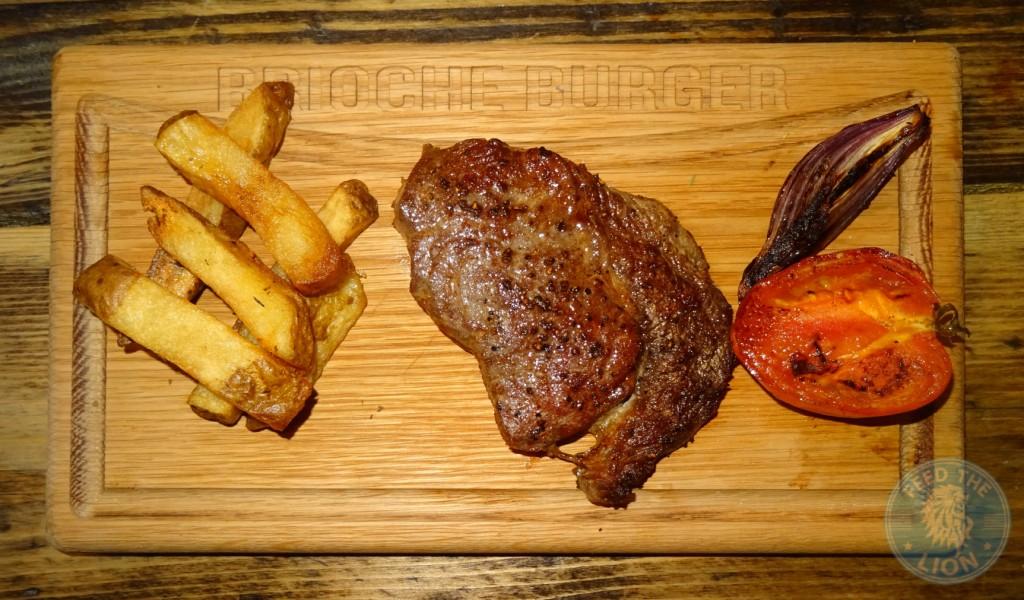 brioche burger steak HMC Aberdeen Angus 21 day dry aged