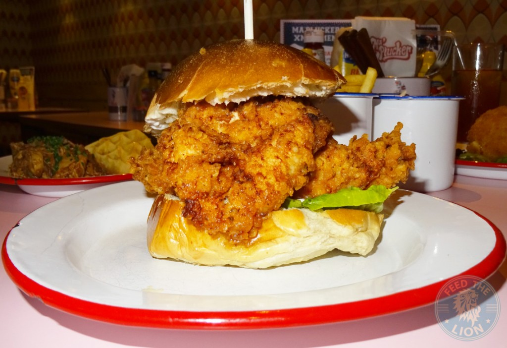 Ma Plucker Crispy Coated Buttermilk Dipped Thigh Buger £7