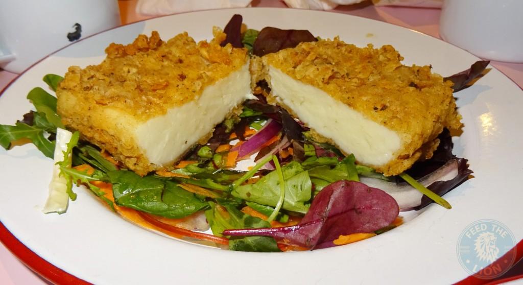 Ma Plucker Crispy Coated Halloumi Cheese £4.50 cut