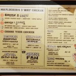 Ma Plucker menu