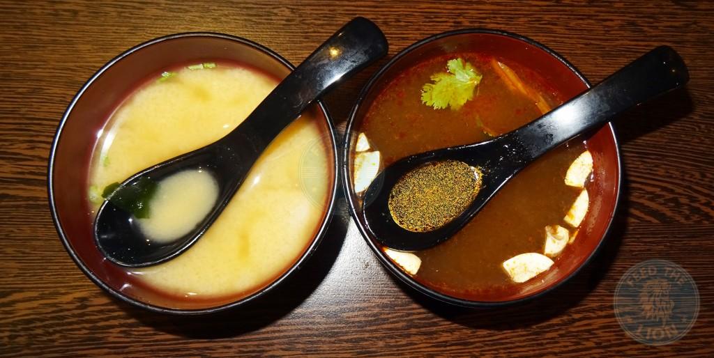 SEN-NIN Japanese Teppanyaki islington soup