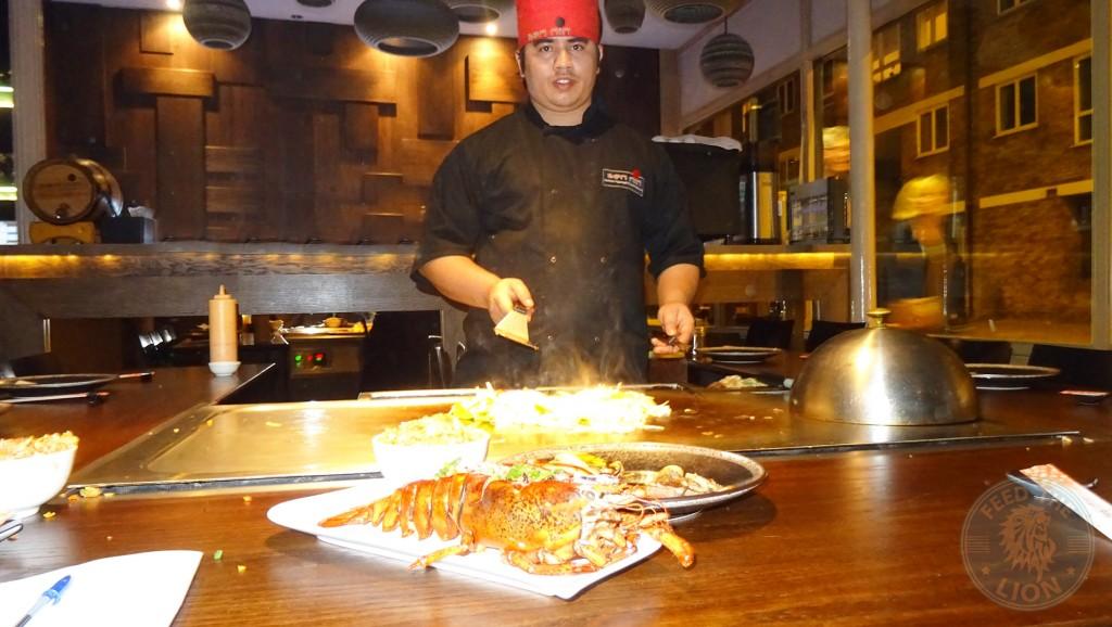 SENNIN Japanese-Teppanyaki & Sushi restaurant islington chef