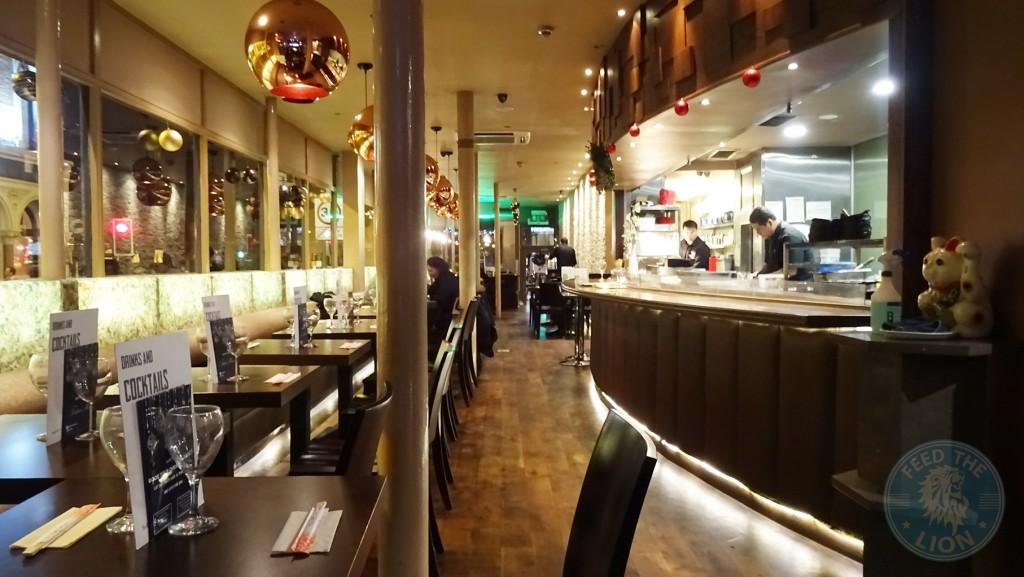 SEN-NIN Japanese Teppanyaki & Sushi decor