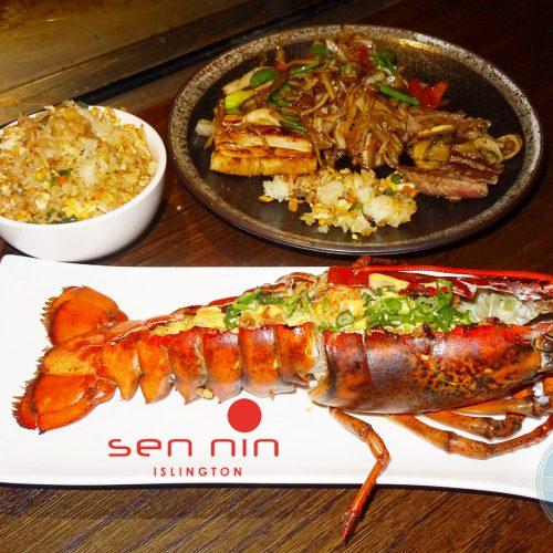 SEN-NIN Japanese Teppanyaki islington lobster