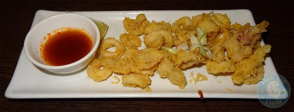 SEN-NIN Japanese Teppanyaki islington squid