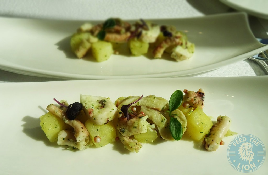 Al Grissino - Piovra e patate - Octopus with potatoes