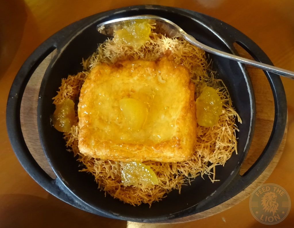 Fried halloum cheese - leila restaurant dubai
