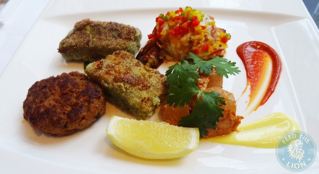 ananta Galouti Kebab, Shamshi Jhinga & Seabass
