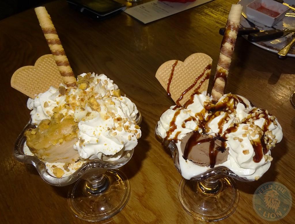 steak out desserts sundae icecream