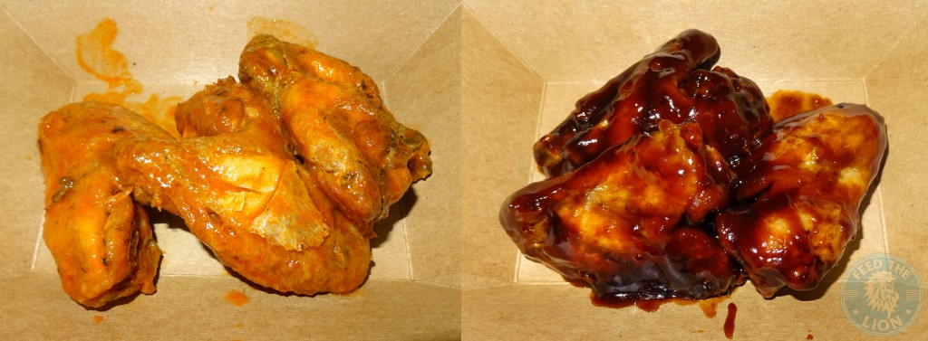 Burgista Bros SPICY BUFFALO & BBQ WINGS