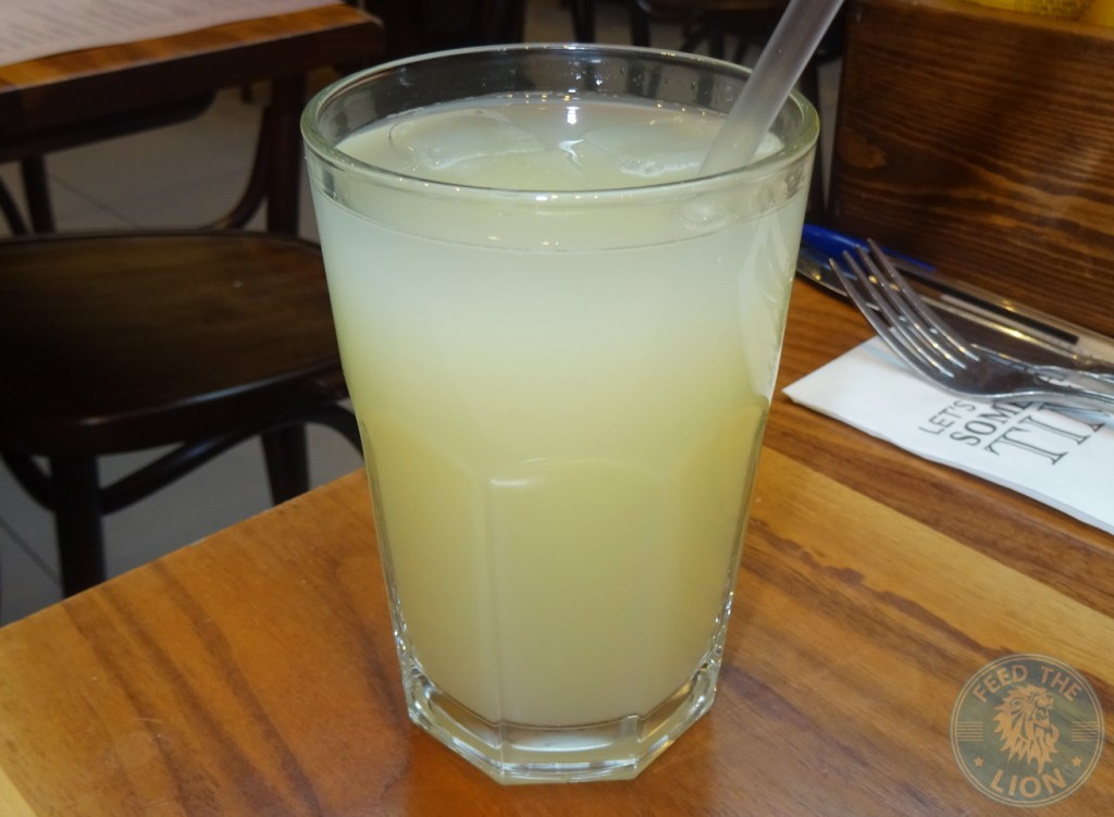 brgr.co Homemade lemonade - £2.75