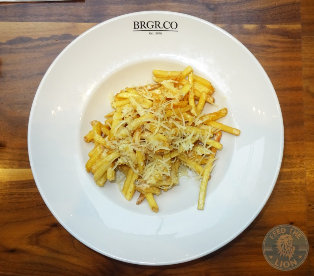 brgr.co PARMESAN TRUFFLE FRIES - £6.00