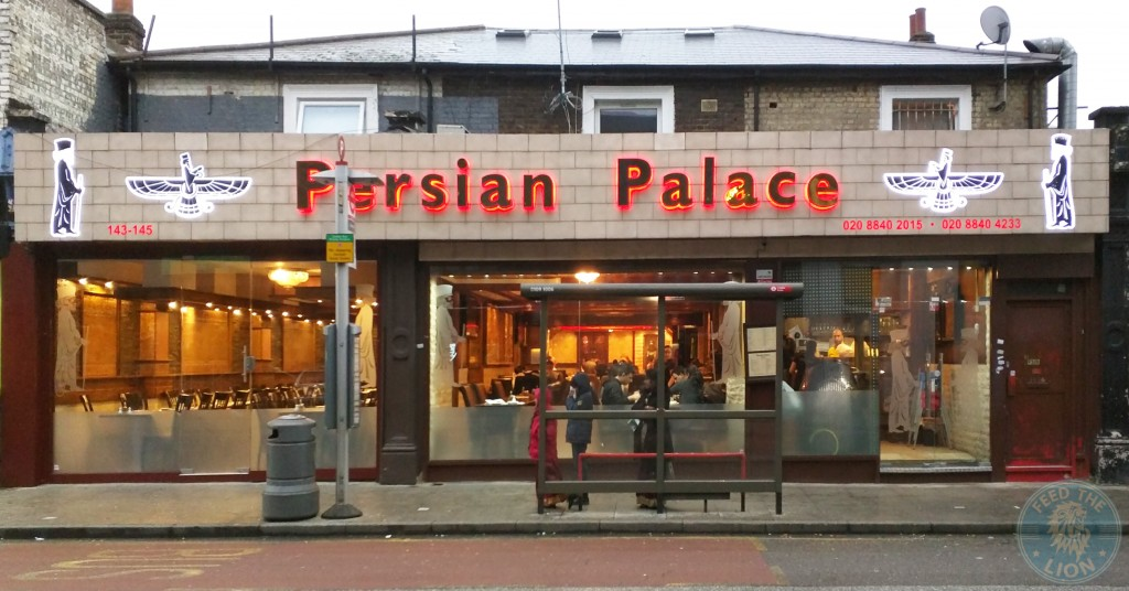 Persian Palace Iranian West Ealing Feed The Lion