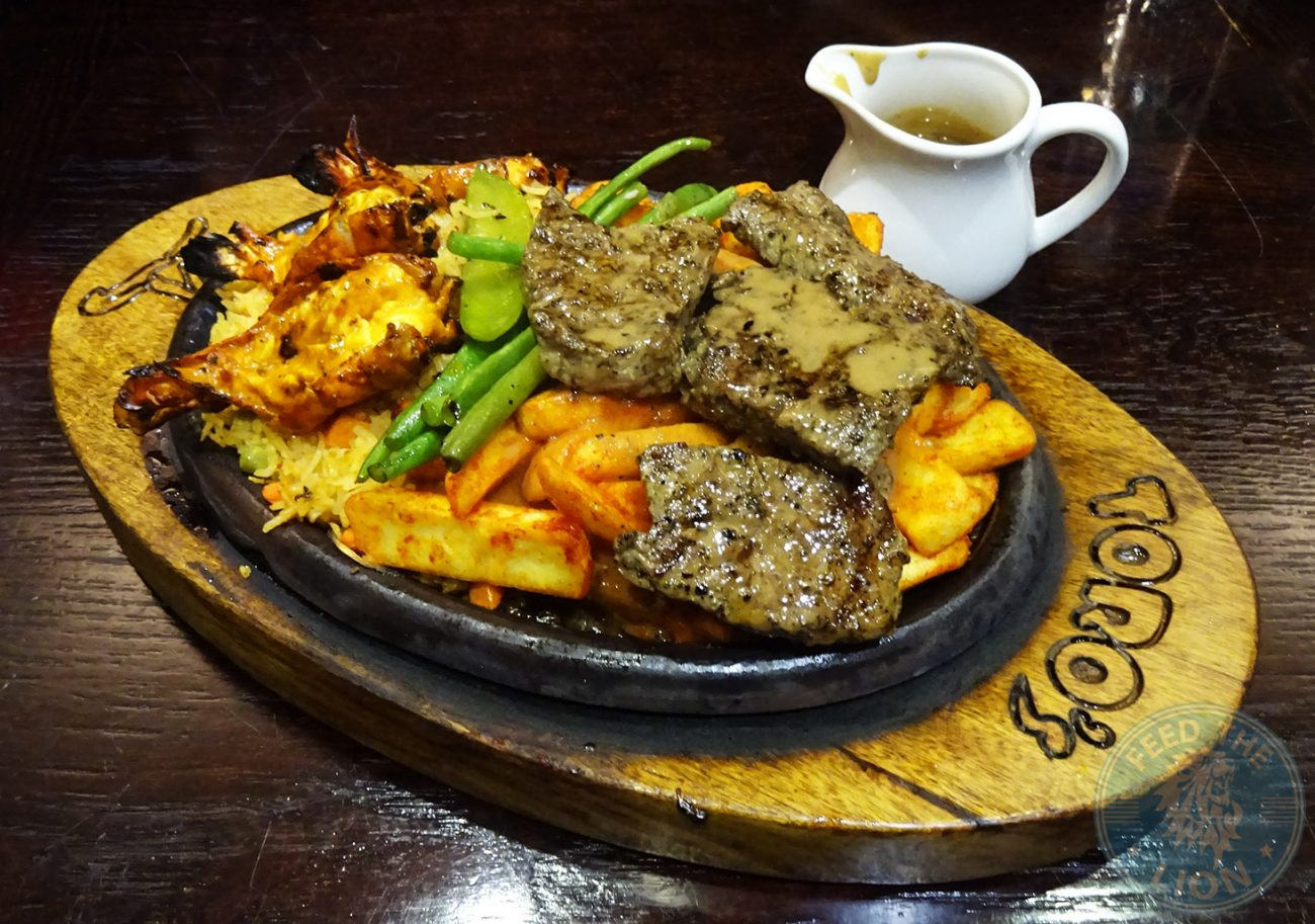 toro's surf n turf steak