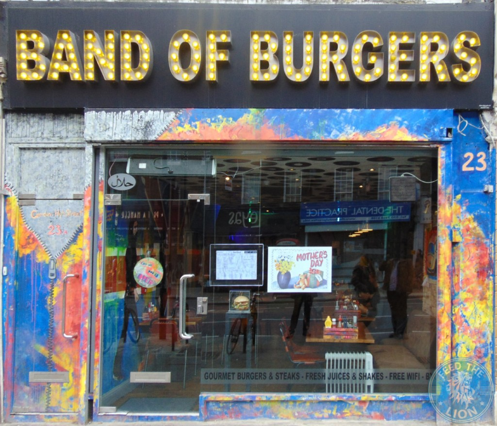 band of burgers camden