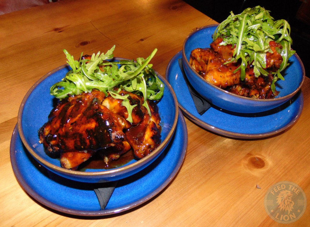 band of burgers Wings of Love - BBQ & Sweet Chilli £4.50 per portion