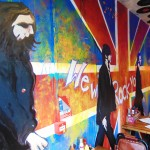 band of burgers camden wall art beatles