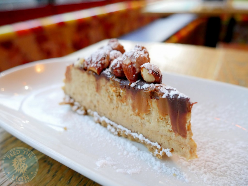 cabana cabana cheesecake 5.95 Banana and caramel (doce de leite), topped with roasted almonds