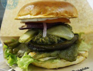 The Haloumi Burger @ Burgista Bros