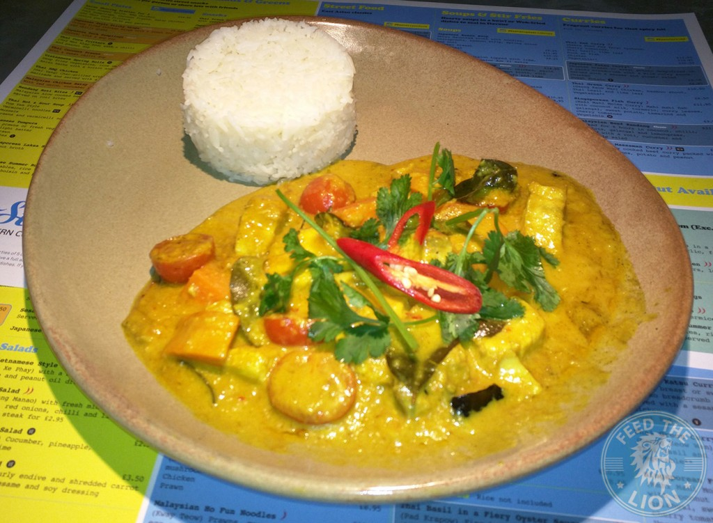 east street pan asian london Fish Curry