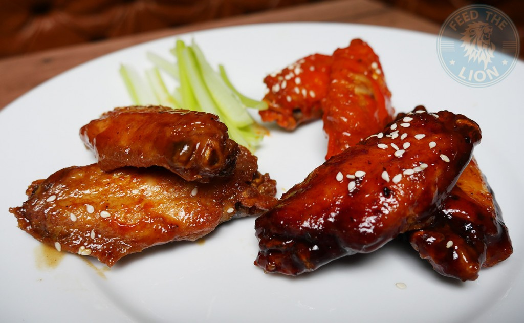 meat house london Buffalo Wings - BBQ, Hot Sauce and Teriyaki