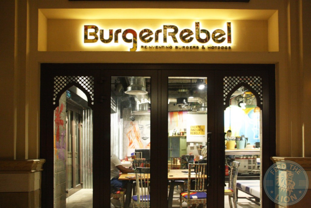 burger rebel dubai gourmet graffiti