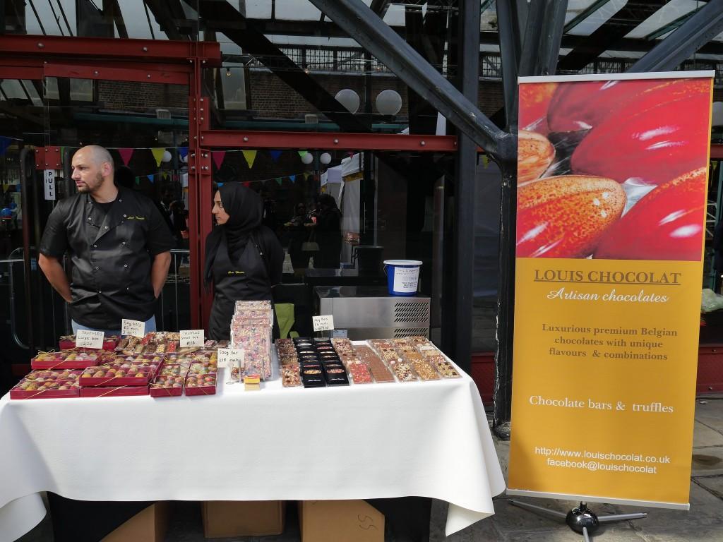 Louise Chocolates London Halal Food Festival 2016