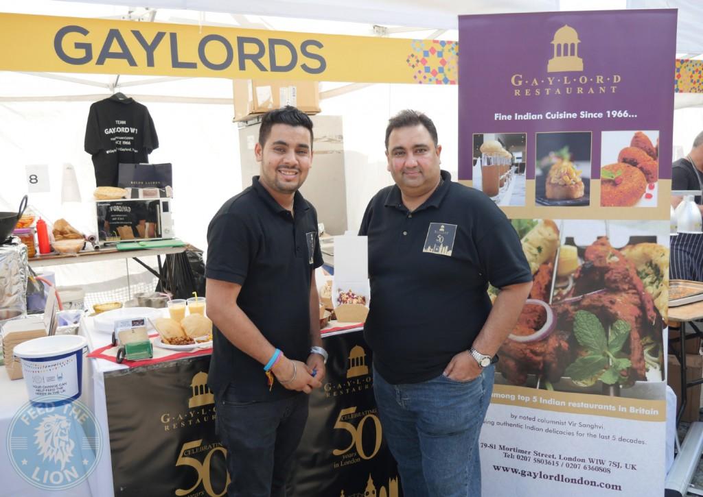 Gaylord Restaurant London Halal Food Festival 2016