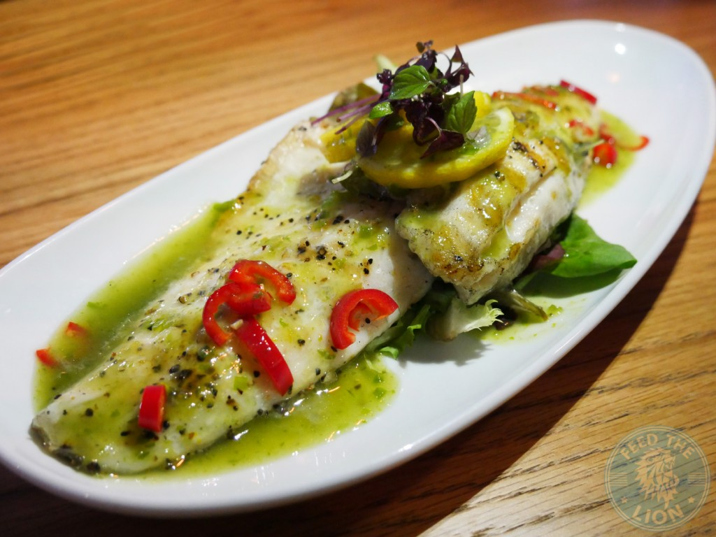 Chi kitchen SEA BASS WITH CHILLI AND LIME