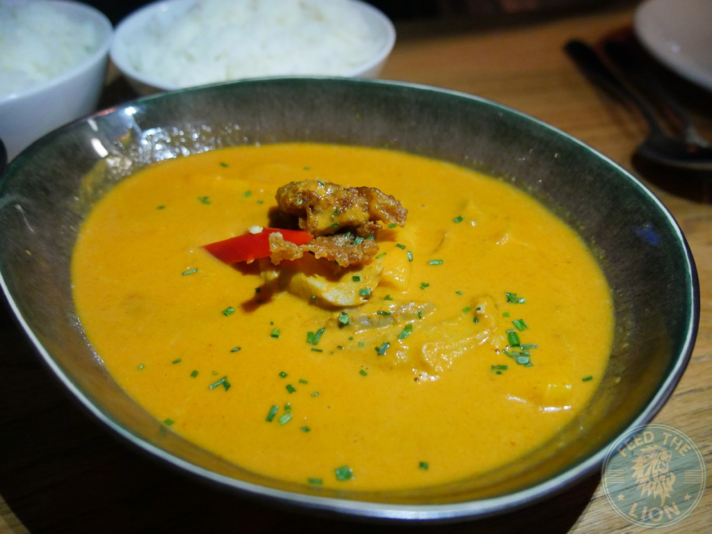 chi kitchen thai red duck curry