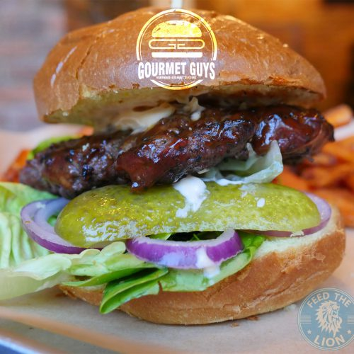 Gourmet Guys Burger Bayswater American dinner