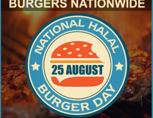 National halal burger day feed the lion 25 august mr hyde restaurant venues