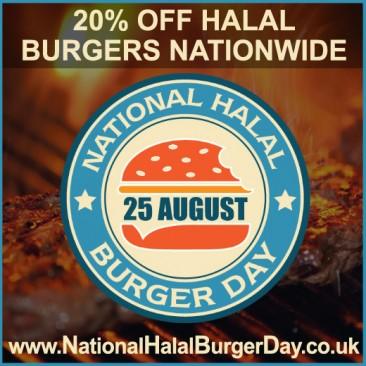 National Halal Burger Day 2016