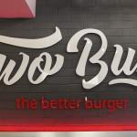 Two 2 buns the better burger american chicken kfc beef fries chips milkshake shake