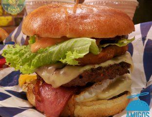 Amigos Acton Shepherds Bush burger gourmet boss
