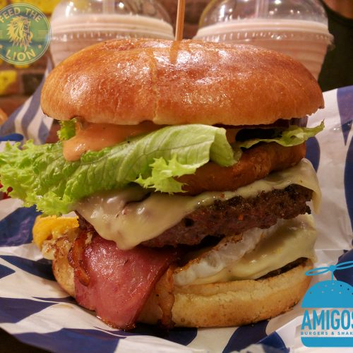 Amigos Acton Shepherds Bush burger gourmet boss