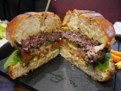 Sea Fire grill burger