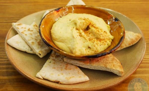 Hummus with Pita £2