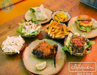 chiquen grilled Chiqken the chiqui way wood green halal burger food drink salad dessert