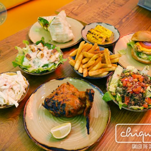 chiquen grilled Chiqken the chiqui way wood green halal burger food drink salad dessert