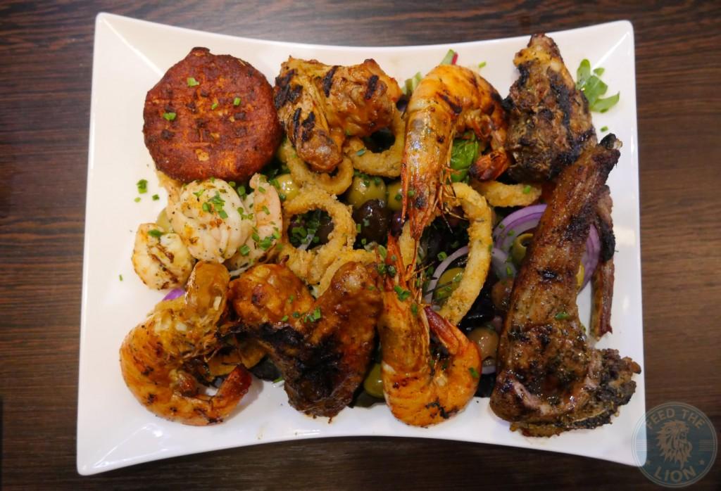 Sea Fire Grill - Steak & Seafood, Camden halal burger hmc
